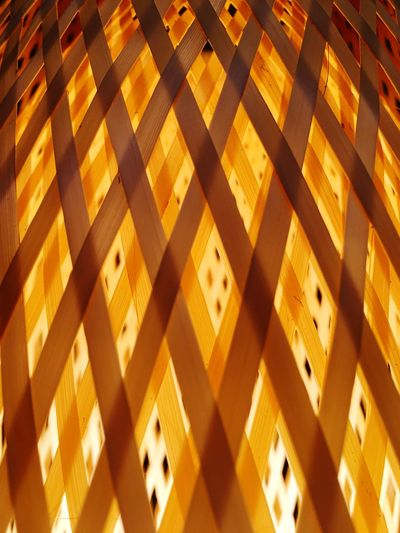 Natural materials of light interlocking EyeEm Selects Pattern Full Frame Backgrounds No People High Angle View Architecture Design Built Structure
