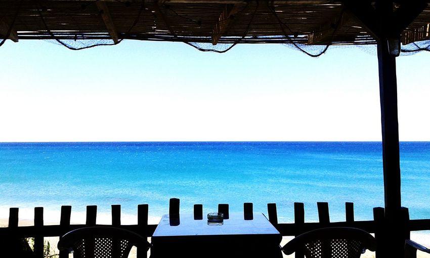 Chill time First Eyeem Photo Sea View GREECE ♥♥ Crete Island Greek Taverna Water Morning On The Beach Ligres Beach