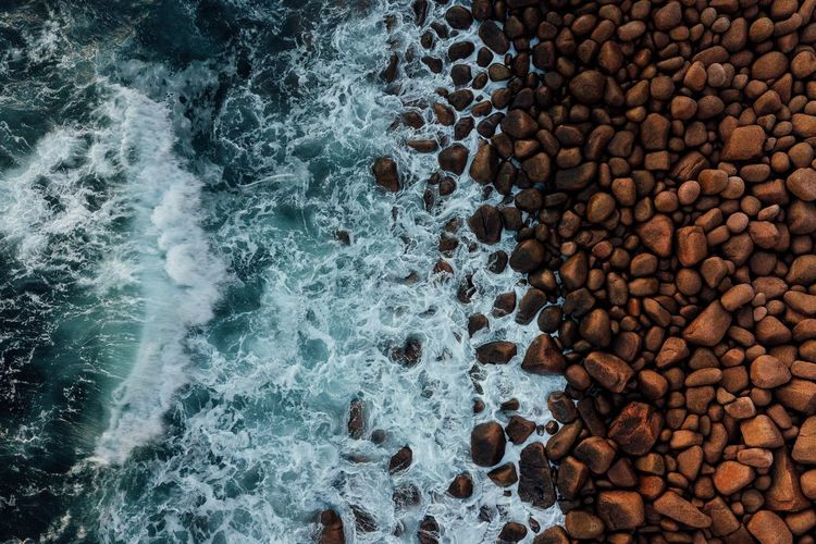 Coco Pops. Love the red rocks out here on Cape Woolamai in Australia. Makes for stunning contrast against the blue surf. Find me on IG @noeldxng Drone  Dji Australia Travel Travel Destinations Victoria Aerial View Coast Rock Rock Formation View From Above Phillip Island Water Backgrounds Full Frame High Angle View Textured  Close-up Pebble Beach Beach Surface Shore The Great Outdoors - 2018 EyeEm Awards A New Beginning