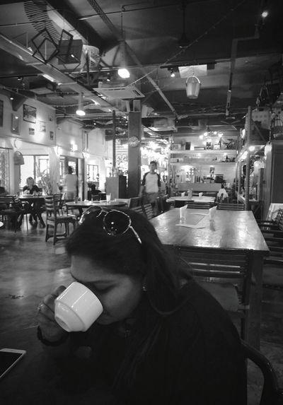 Shades Of Grey Coffee Cafe Tea Time Cafe Break Vintage