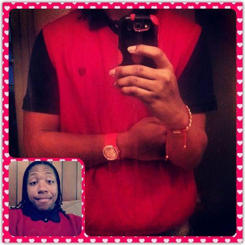 Love Red Happy Valentine's Day Mack Sweater Vest