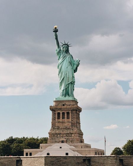 Statue of Liberty Beautiful New York Traveling Travel