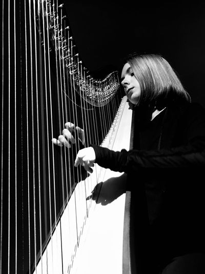 Harpist at MIRA