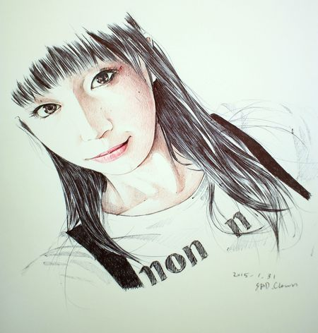 Marica Maricahase まりか Ballpoint Drawing Paint Painting Esedy