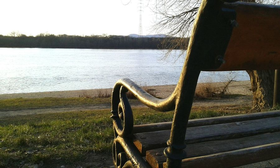 Showcase: January Bench Eye4photography  EyeEm Best Shots ILoveMyCity Duna Danube River River View River Collection Enjoying The View Relax Time  Resting