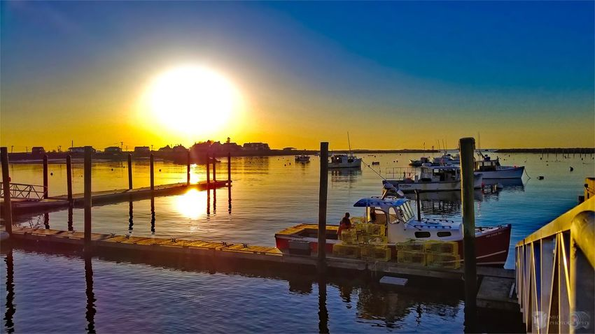 Good afternoon.. Sunset Water Reflection Sea Sun Nautical Vessel Scenics Sunlight Beauty In Nature Sky Nature Built Structure Tranquil Scene Harbor Tranquility Outdoors Beach Moored Architecture EyeEm Best Shots EyeEm Best Shots - Landscape