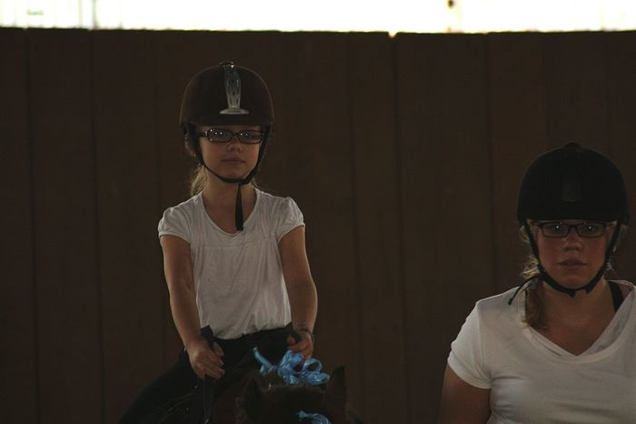 Two People Indoors  Young Adult Rider Horse Riding Sport Helmets Mother & Daughter Togetherness People Adult Child