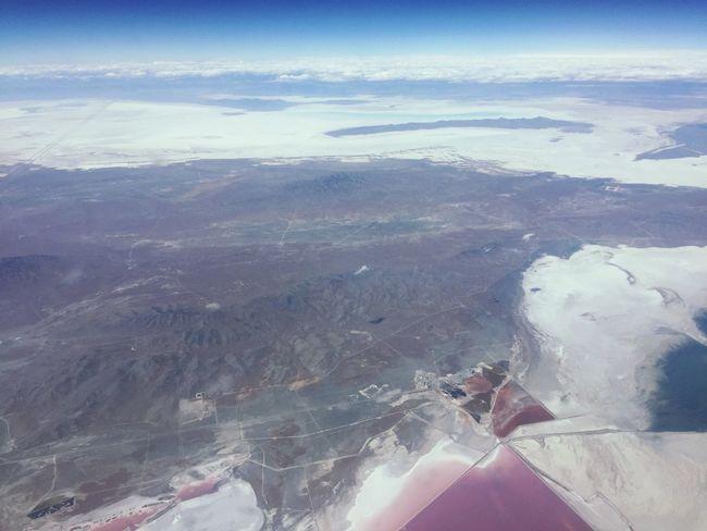 Beautiful SaltLake USA Flying Overview Travel Destinations Lovetravelling Lovemyjob Airplane Flying High Ontheway Beautifullife