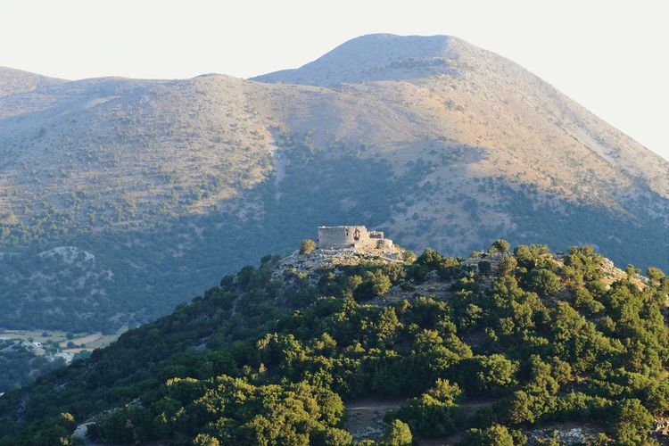 Lookout Creta Crete Greece Chania Lookout Nature Hills Mountains Landscape High Ruins Top Showcase: February Landscapes With WhiteWall The KIOMI Collection The Great Outdoors With Adobe The Great Outdoors - 2016 EyeEm Awards Hidden Gems