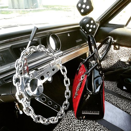 Luxdeville 65impala Rockabillychick Girlswithcars Rockabillygirl Arabgirl Mybeast Chevrolet Chevy Impala Socali