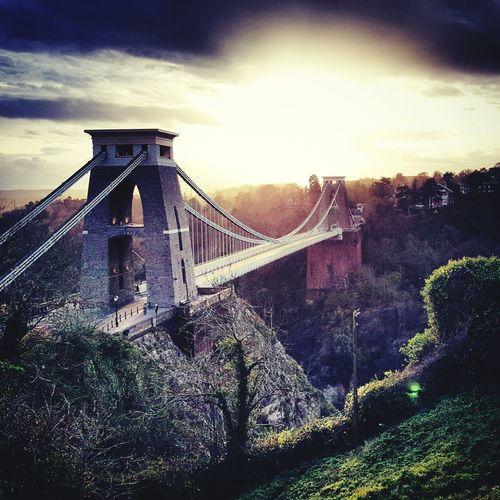 Seeing The Sights Bridge Cliffton Bristol