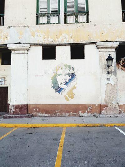 Che Guevara Mural Hasta La Victoria Siempre Road Architecture Street Art Spray Paint Mural