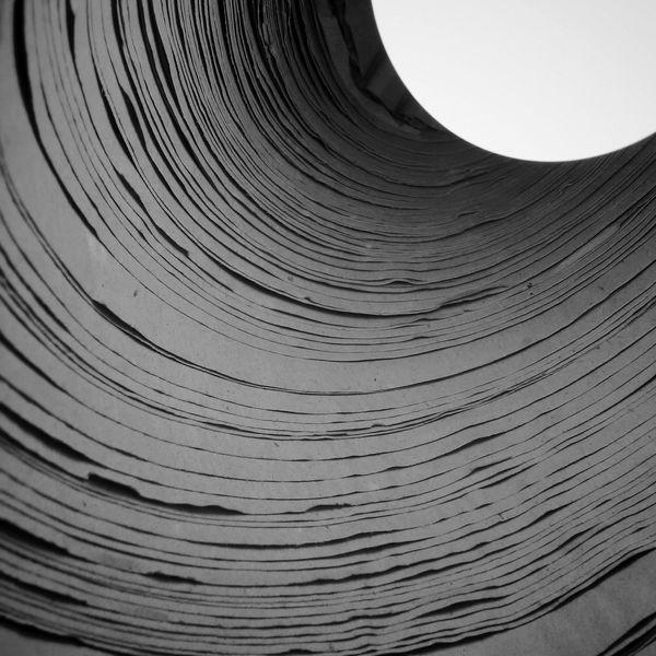 Mind Trick Curves Black & White