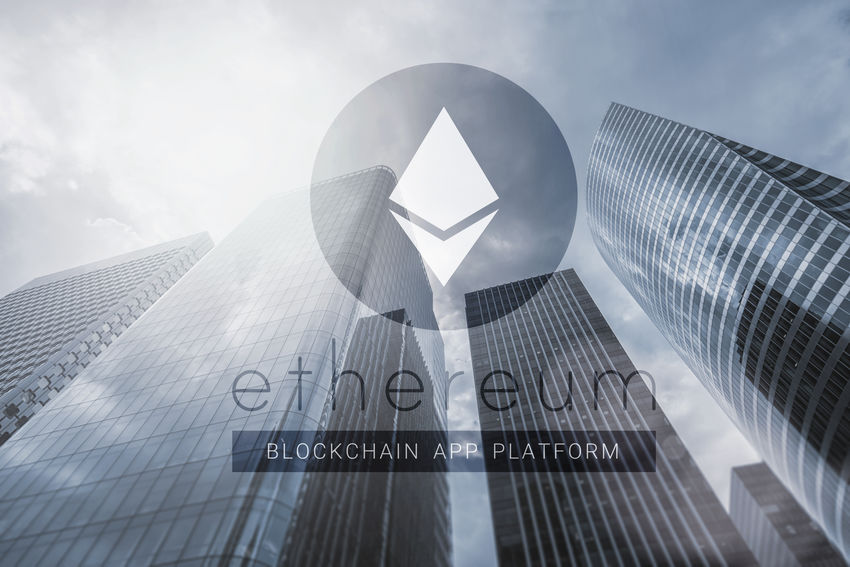 Ethereum - cryptocurrency - concept image Anonymous Business Currency Market Peer-to-Peer Architecture Banking Bit-coin Bitcoin Blockchain Blockchain Technology Business District Business Finance And Industry Cryptocurrency Cryptography Digital Etc Ethereum Financial Investment Mining Savings Sky Skyscraper Speculation