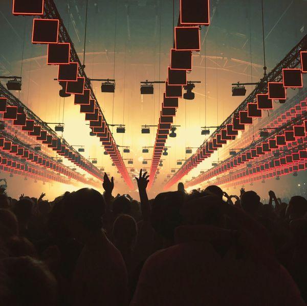 Crowd Lights Lightshow Concert Event First Eyeem Photo