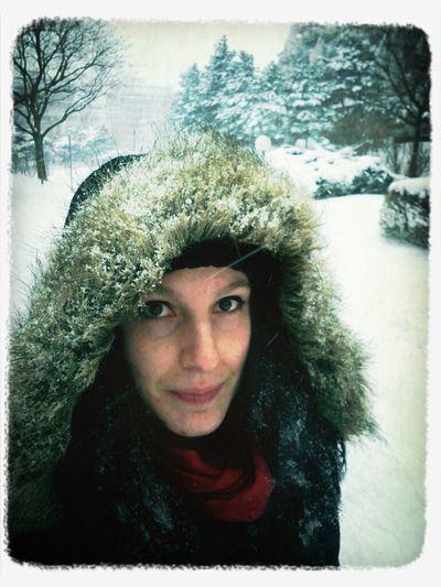 Schneespaziergan