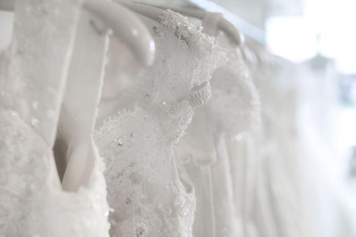 Beauty Boutique Bridal Bride Clothing Decoration Design Dress Elégance Exhibition Fashion Fine Hangers Marriage  Perfect Dress  Satin Silk Wedding Ceremony Wedding Day Wedding Dress Women