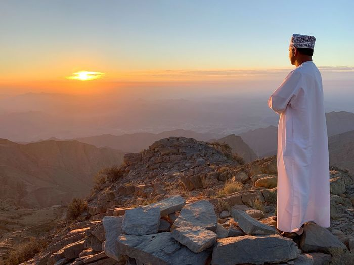 Sunrise in Oman