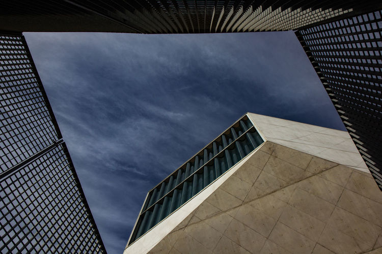 Architecture Building Exterior Built Structure Day Low Angle View Modern No People Outdoors Sky