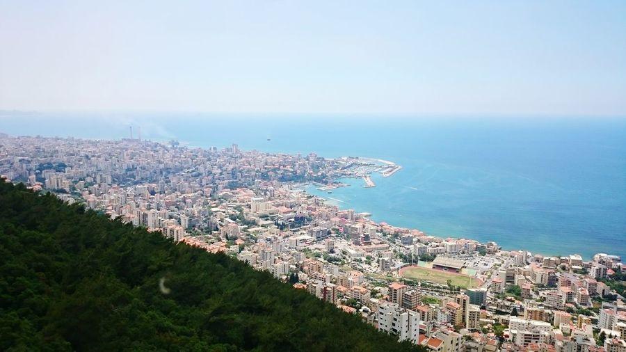 Lebanon Jounieh Sea And Sky Green Nature Beach #urbanana: The Urban Playground