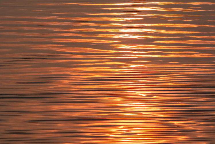 Full frame shot of sea during sunset
