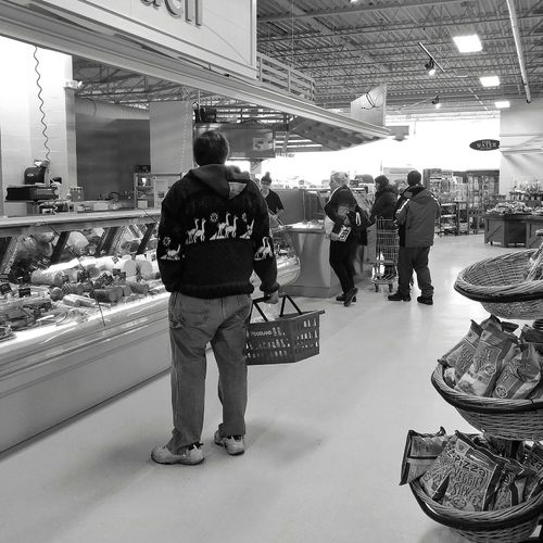 Deli Shopping Grocery Grocerystore Saturdaymorning Photooftheday Streetphotography Streetphoto_bw Blackandwhitephotography Black And White