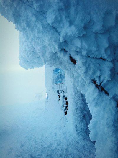 Still winter... Shades Of Winter Winter Snow Ice Cold Weather Chilly Frozen Ski Trip Åreskutan Extreme Weather Monochrome Nature Mountains Showcase: March Showcase March