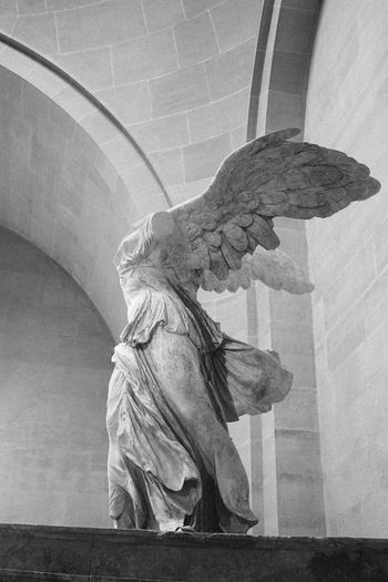 ArtWork Marble Museum Musée Du Louvre Nike Of Samothrace Paris Sculpture Victory Of Samothrace Winged Victory Of Samothrace Welcome To Black