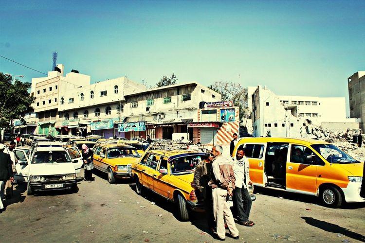 Mercedes Traffic Taxi Gaza