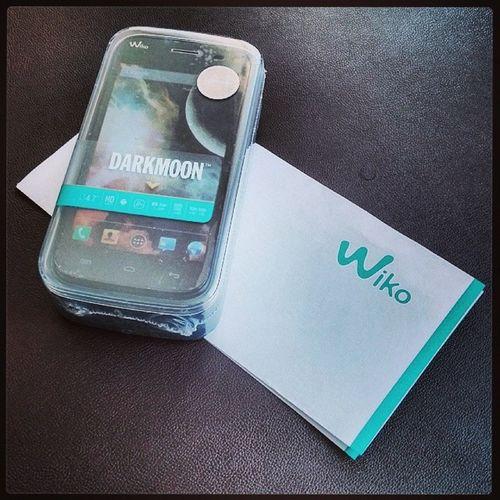 Neues Spielzeug ist eingetroffen. Das Wiko Darkmoon. Wiko WikoMobile Smartphone DarkMoon WikoDarkmoon Android