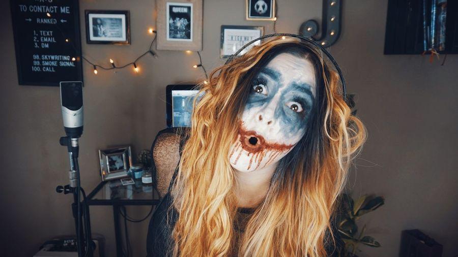 Make Up Scary