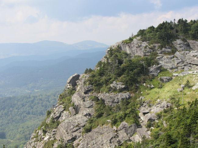 Grandfather Mountain, North Carolina North Carolina Beauty In Nature Blueridgemountains Blueridgeparkway Day Greenery Landscape Mountain Mountain Range Nature No People Outdoors Sky Colour Your Horizn