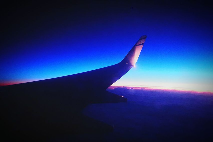 El Al Taking Photos Travel Photography Night Photography From An Airplane Window