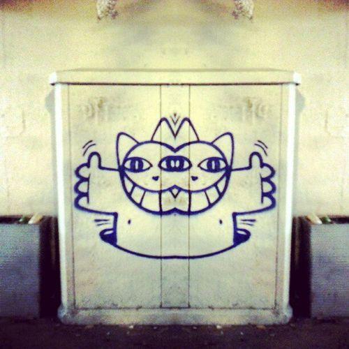 Hello World Streetart Monsieurlechat