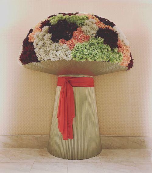 Giant flowers Okada Philippines Flower Artflowers Colorful Travel