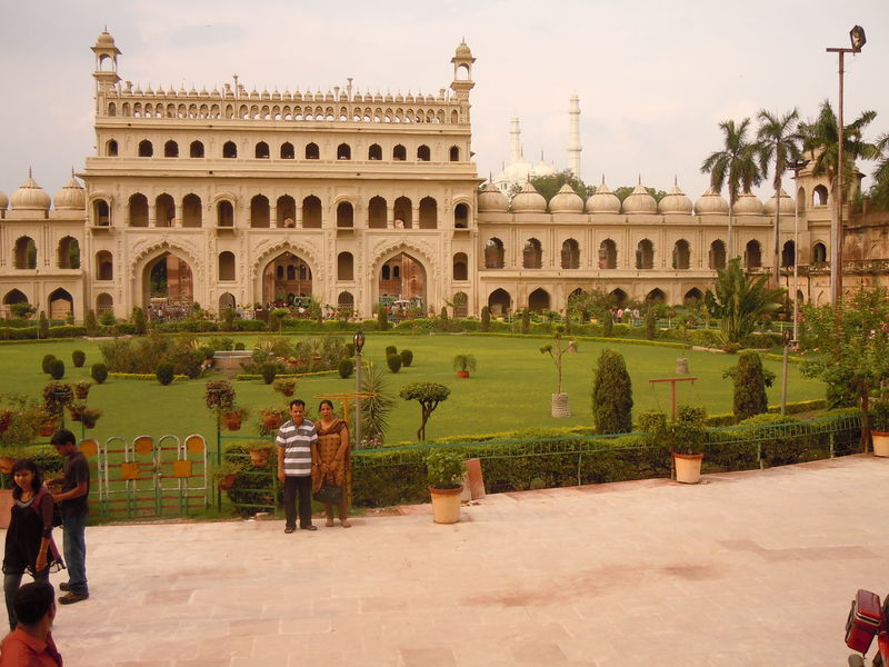 01194 Bara Imambara-Lucknow-India Architecture Arts Culture And Entertainment Building Exterior Built Structure City Day History Horizontal No People Outdoors Sky Tourism Travel Travel Destinations