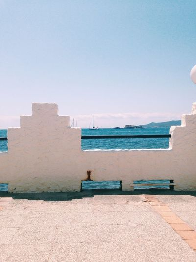 Architecture Sea Built Structure Day Water Outdoors Clear Sky No People Beach Building Exterior Sky Nature VSCO Ibiza Sommergefühle