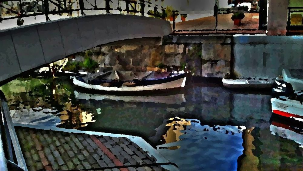 Oil Painting Photograph Digital Painting My Edits Love Boat