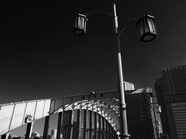 Tokyo Japan Kachidoki Bridge Low Angle View Built Structure Architecture City No People Day Sky 東京 勝鬨橋 勝どき 勝どき橋
