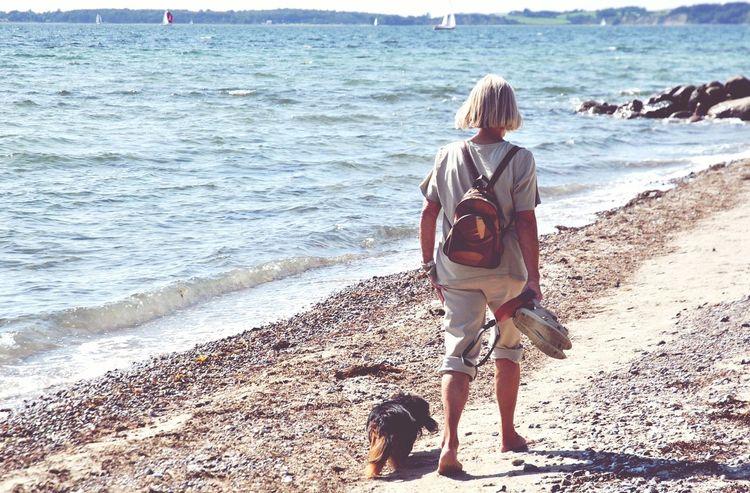 Taking Photos Enjoying Life My Dog Denmark Nikon Summertime The Great Outdoors - 2015 EyeEm Awards Walking By The Beach Beach Nature Photography