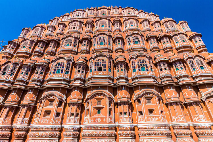 Architecture Building Exterior Day Hawa Mahal Low Angle View No People Outdoors Sky