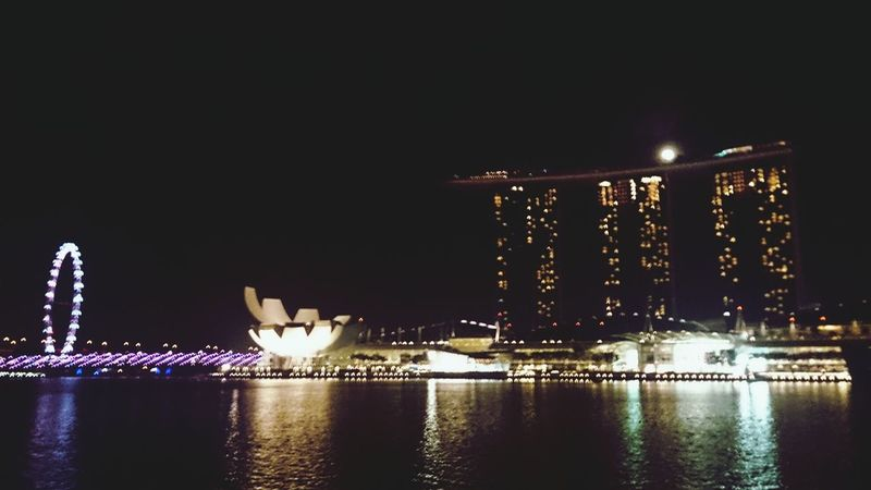 Full Moon Landscape_Collection Night Photography Singapore