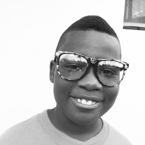 Junior  Jr Noiretblanc Noir Blackandwhite Blancoynegro Son Love Firstborn Nerd Glasses Sunglasses