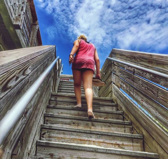 Taking the stairway to heaven Daughter Pier Stairway To Heaven