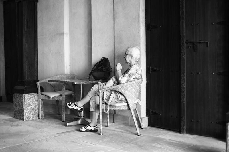I am still waiting for you... Blackandwhite Taking Photos Lonley Life
