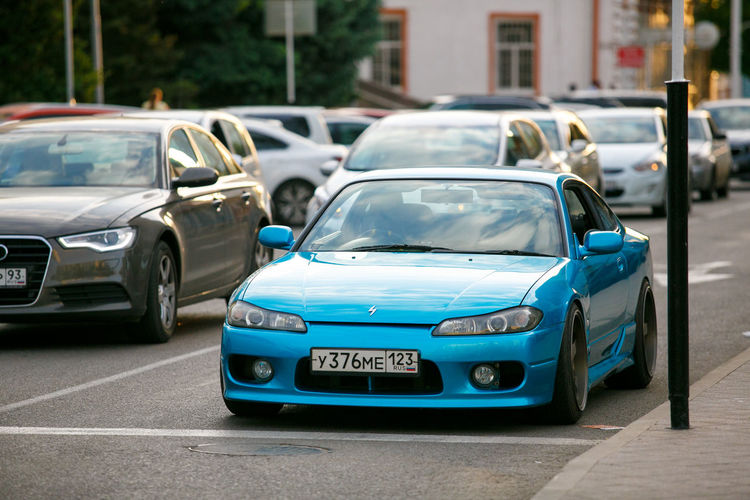 Nissan Silvia Architecture Building Exterior Built Structure Car City Day Land Vehicle Mode Of Transport No People Outdoors Transportation The Modern Professional