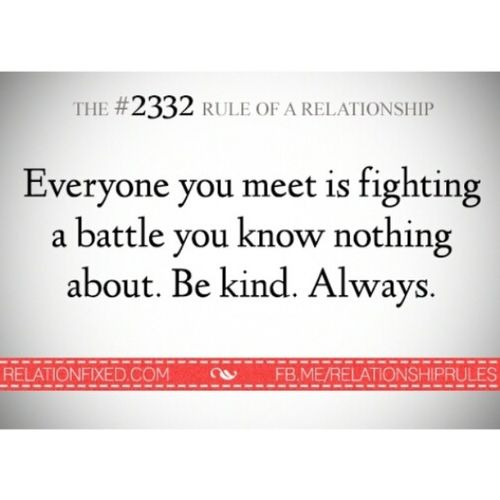 One of the many rules I live by. Kindness Love Filipinosbelike