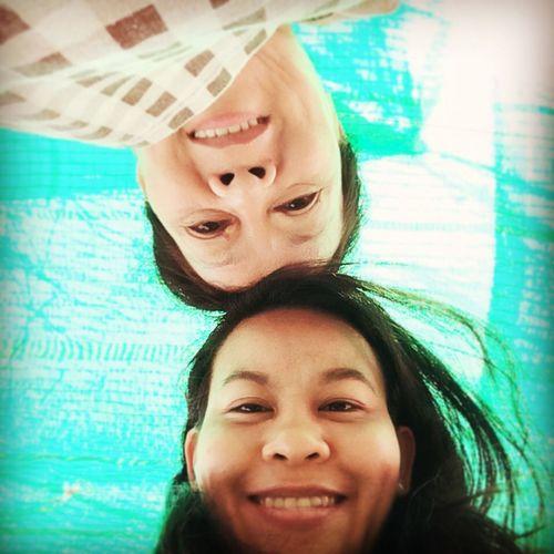 w/t my mom last Sunday. Portait Selfie I Love You Mom