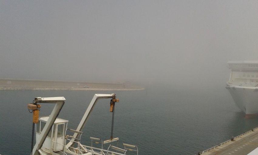 Brume Matinale Bruma Brume Fog Foggy Day Bateau Barco Mer Mar Sea Puerto Port Brouillard Matinal Brouillard