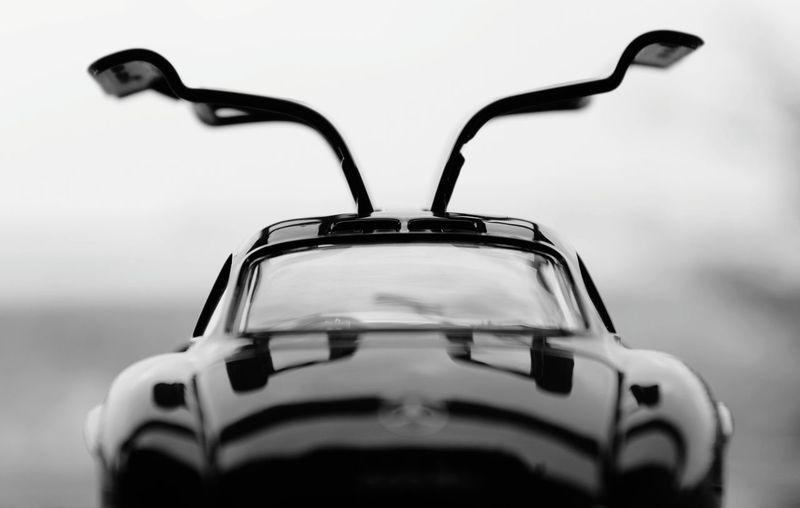 Close-up of car